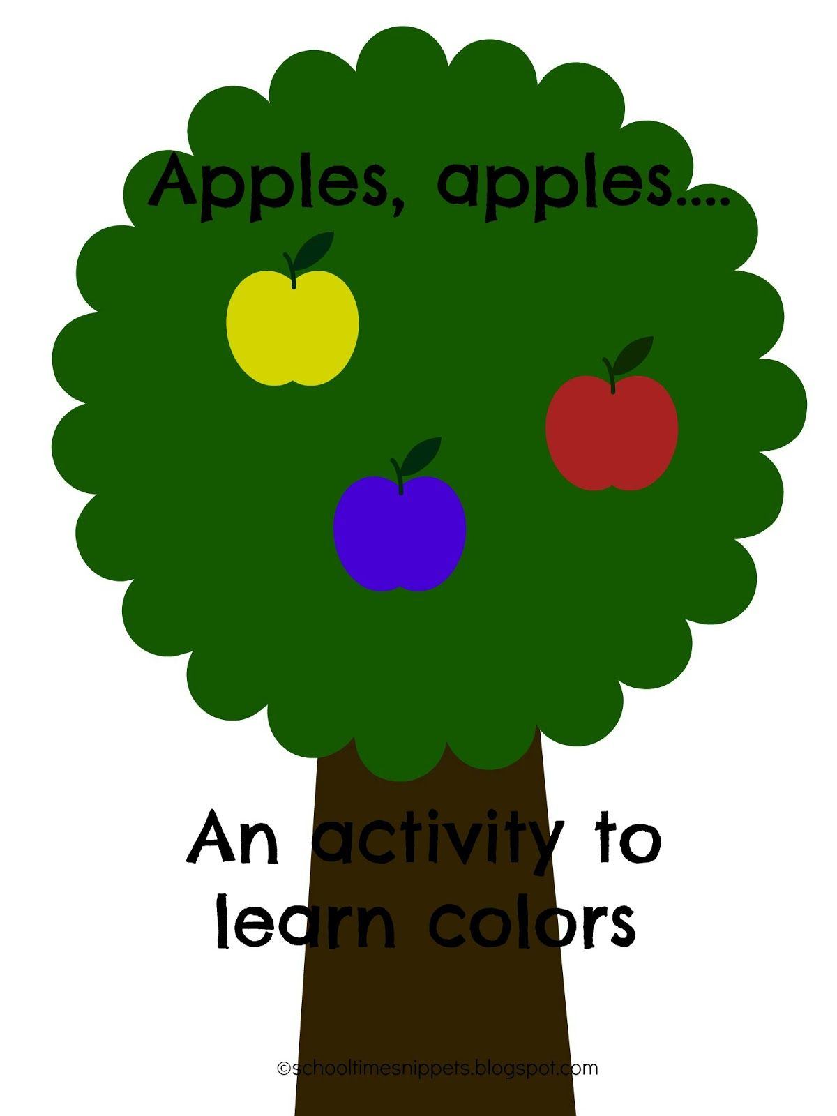 Apples, Apples..\