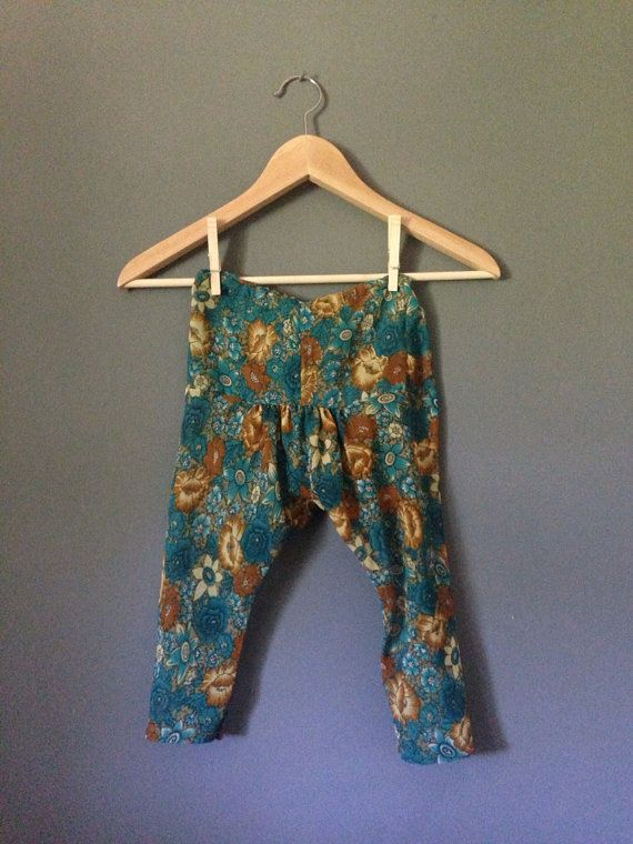 Vintage Retro Harem Hippy  Floral trousers by TheAppleBobber, £12.00