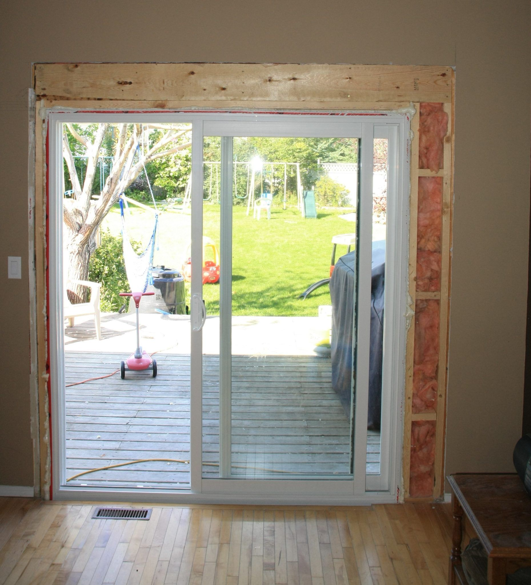 Can It Be Done Absolutely But There Are Certain Things You Have To Know If You Want To Expand A Window I Kitchen Patio Doors Patio Doors Small Exterior Doors