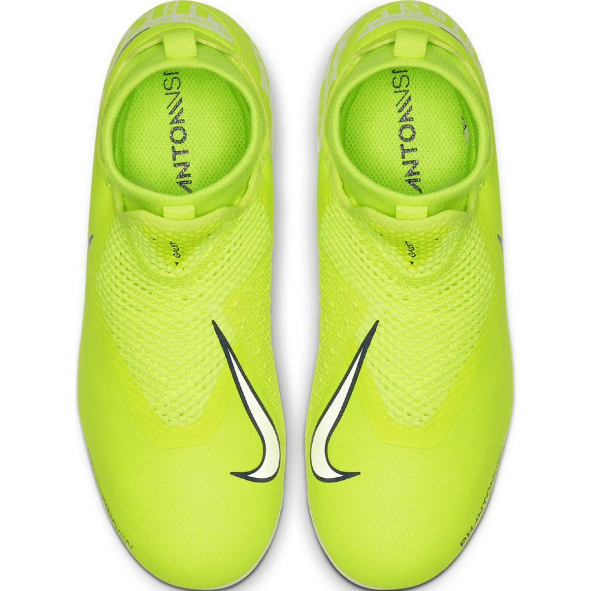 Buty Pilkarskie Nike Phantom Vsn Academy Df Fg Mg Jr Ao3287 717 Zolte Zolte Football Shoes Nike Young Football Players