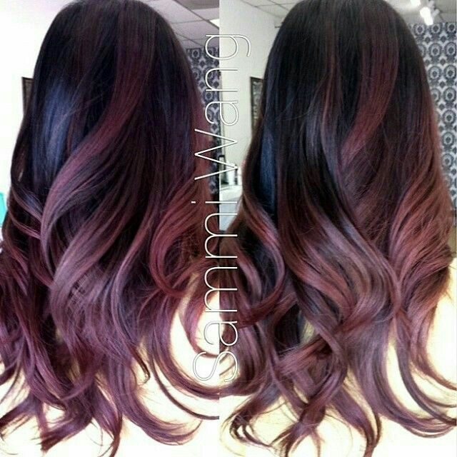 Balayage Flamboyage Whos Care The Name Love This Red