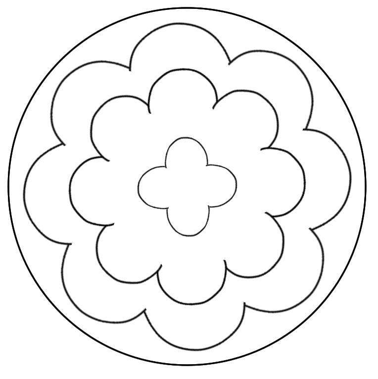 10 Mandalas Fáciles Mándalas Mandalas Faciles Mandalas Y Como