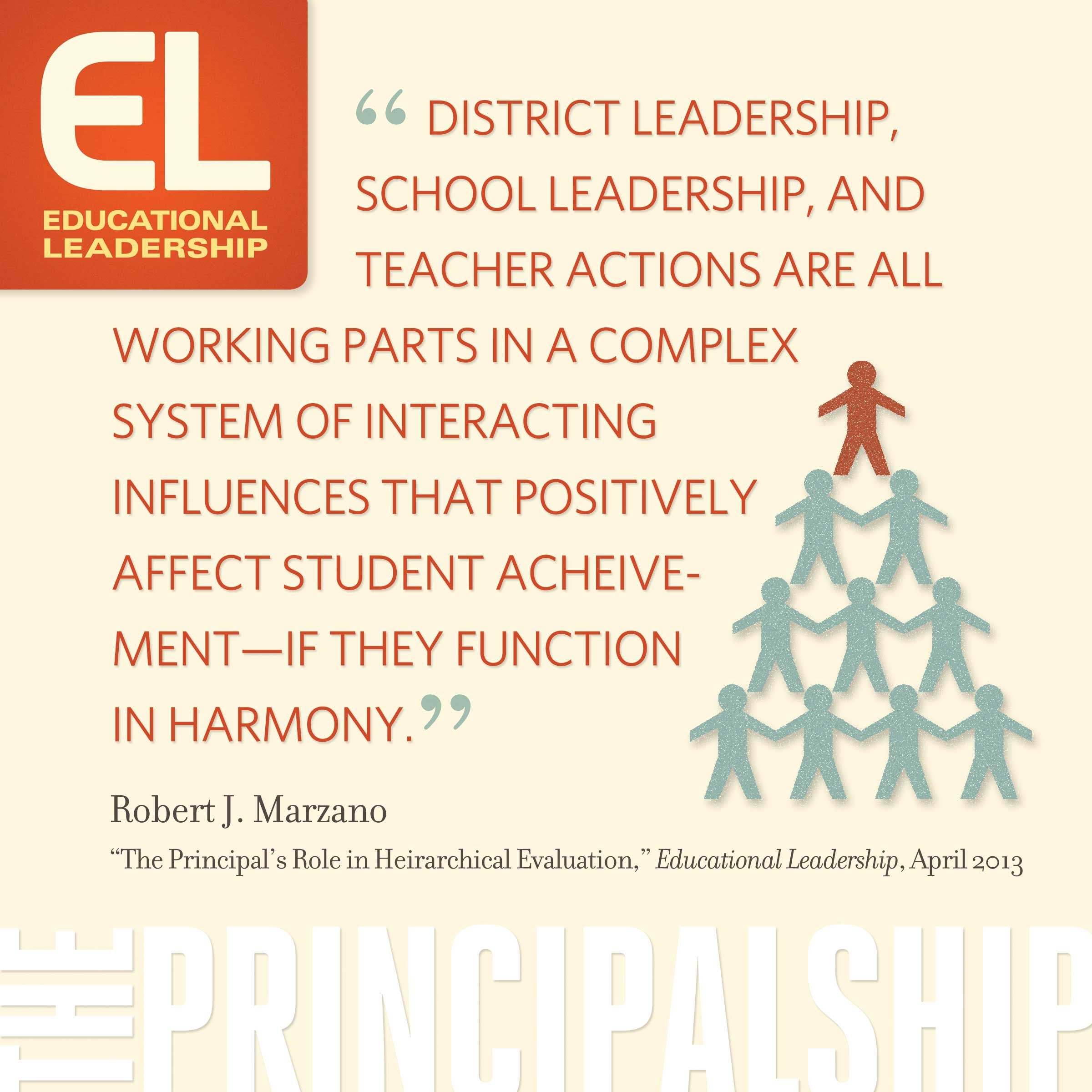 The Principal S Role In Hierarchical Evaluation By Robert Marzano