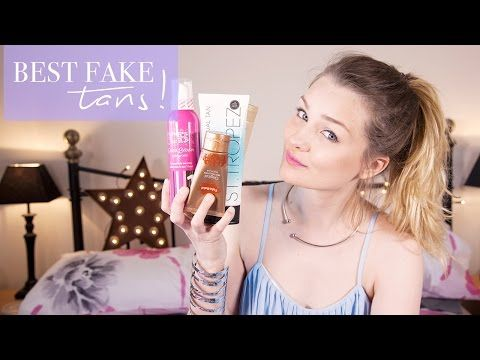 THE BEST FAKE TANS! | tinytwisst - YouTube