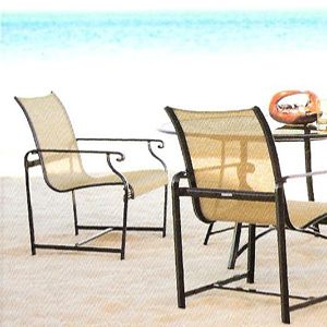 Brown Jordan Aegean Sling Collection Modern Patio Furniture