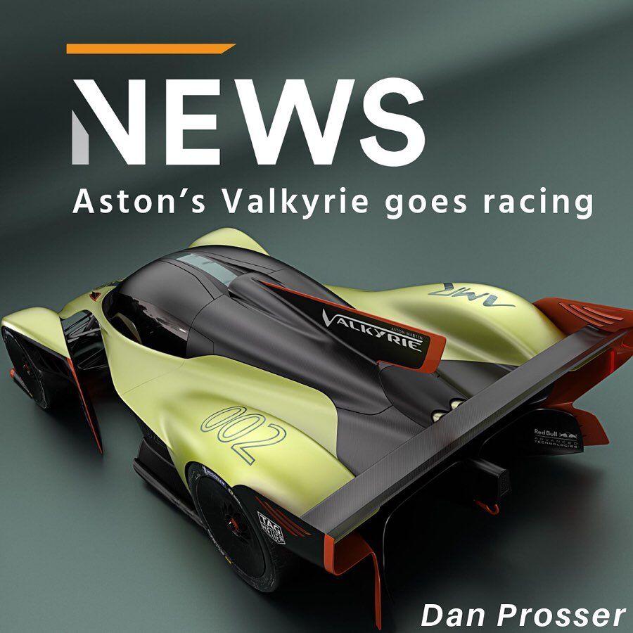 Aston Martin Valkyrie Hypercar: Aston Martin Has Confirmed It'll Go Racing With Its