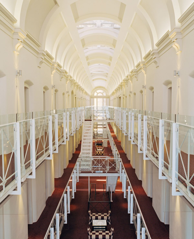 Gefängnis-Hotels-Oxford England-Malmaison-Gang