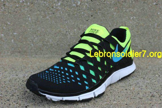 07a72d688cce Nike Free Trainer 5.0 NRG Volt Current Blue Black 579813 704