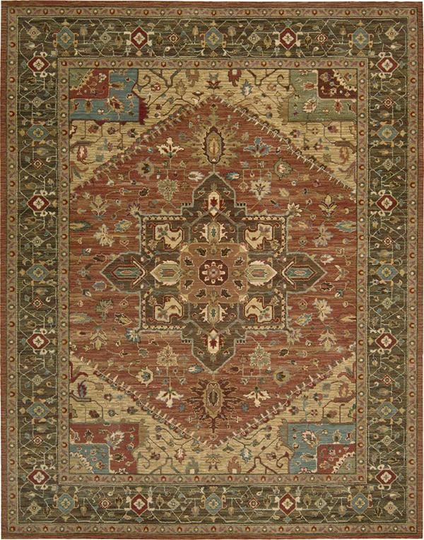 Nourison Living Treasures Li 01 Area Rugs With Images Oriental