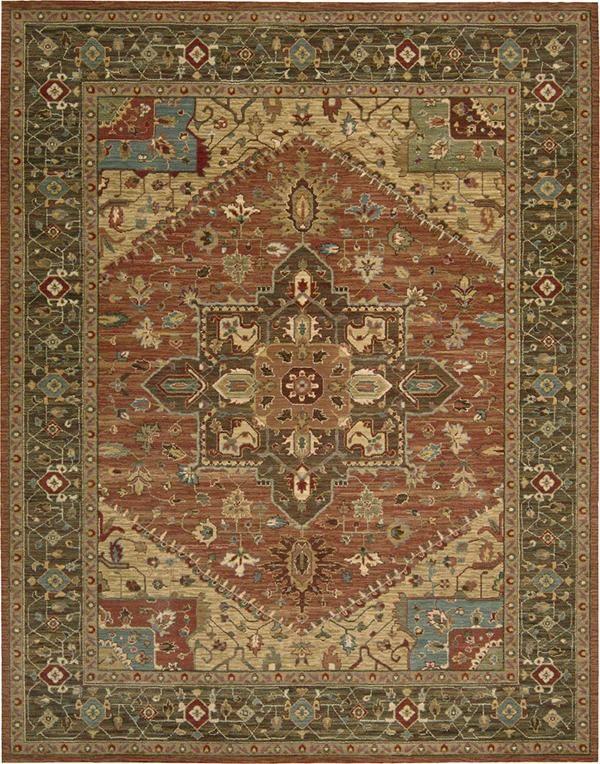 Nourison Living Treasures Li 01 Area Rugs With Images Oriental