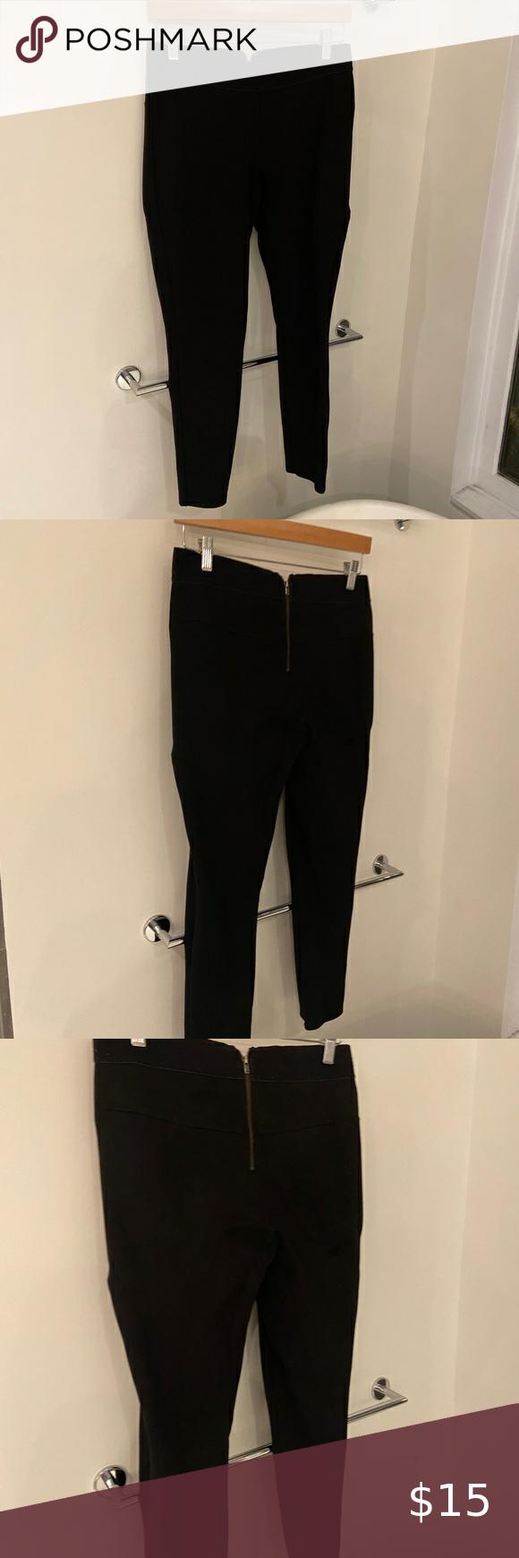 Marine Layer Black Pants