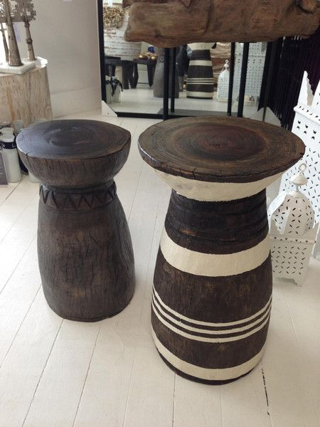 African Lozi Stool Side Table African Home Decor