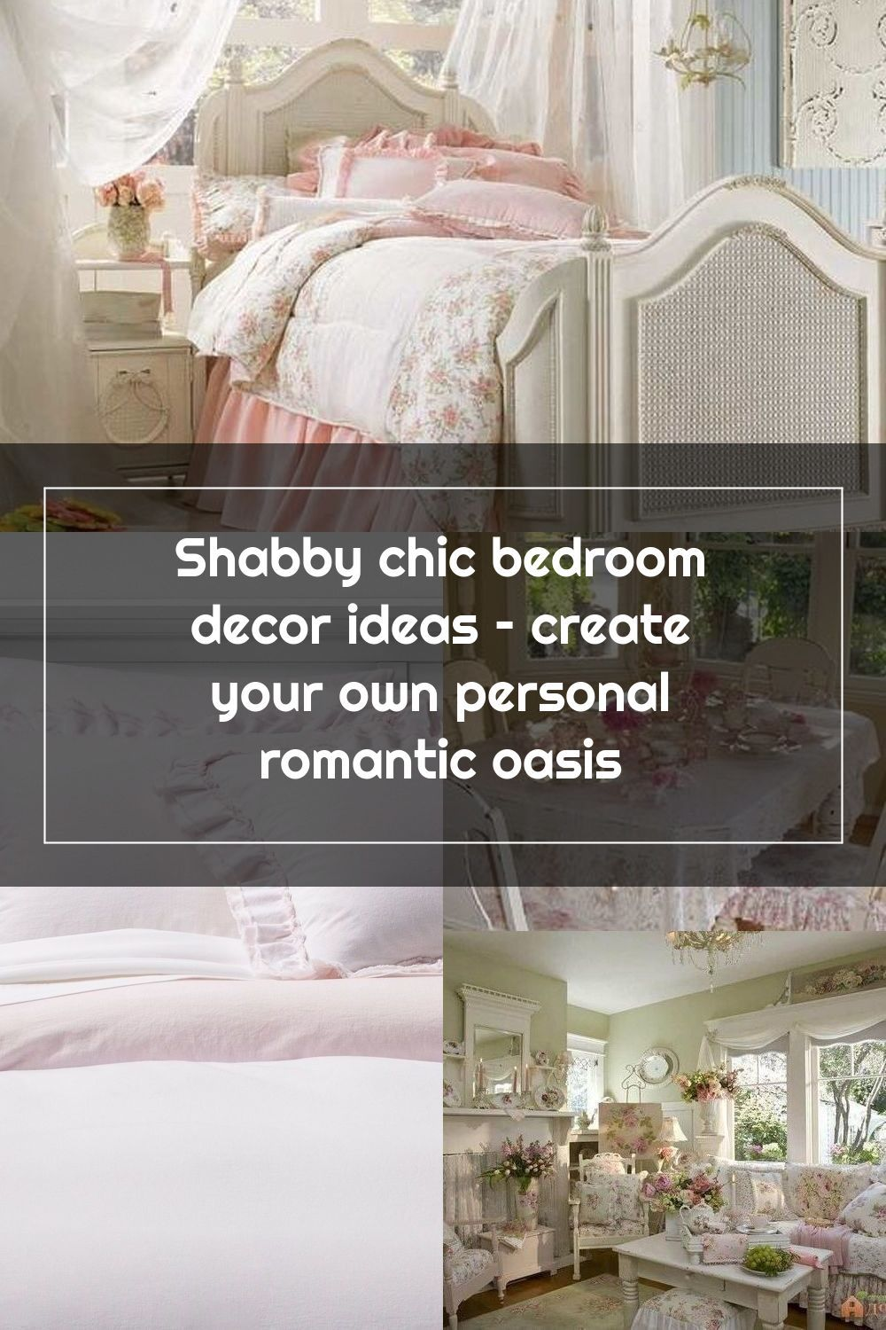 Shabby Chic Bedroom Decor Ideas Create Your Own Personal