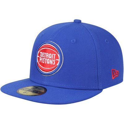 cheapest price online retailer outlet on sale Youth Detroit Pistons New Era Blue Official Team Color 59FIFTY ...