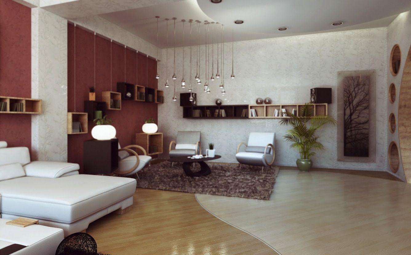 Contemporary Lounge Multi Bulb Light Fixture
