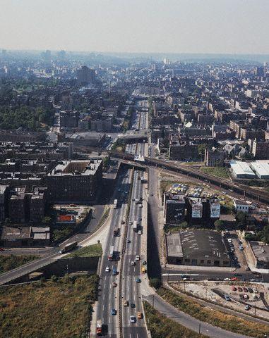 Cross Bronx expressway, Bobert Moses, 1960s | Architecture