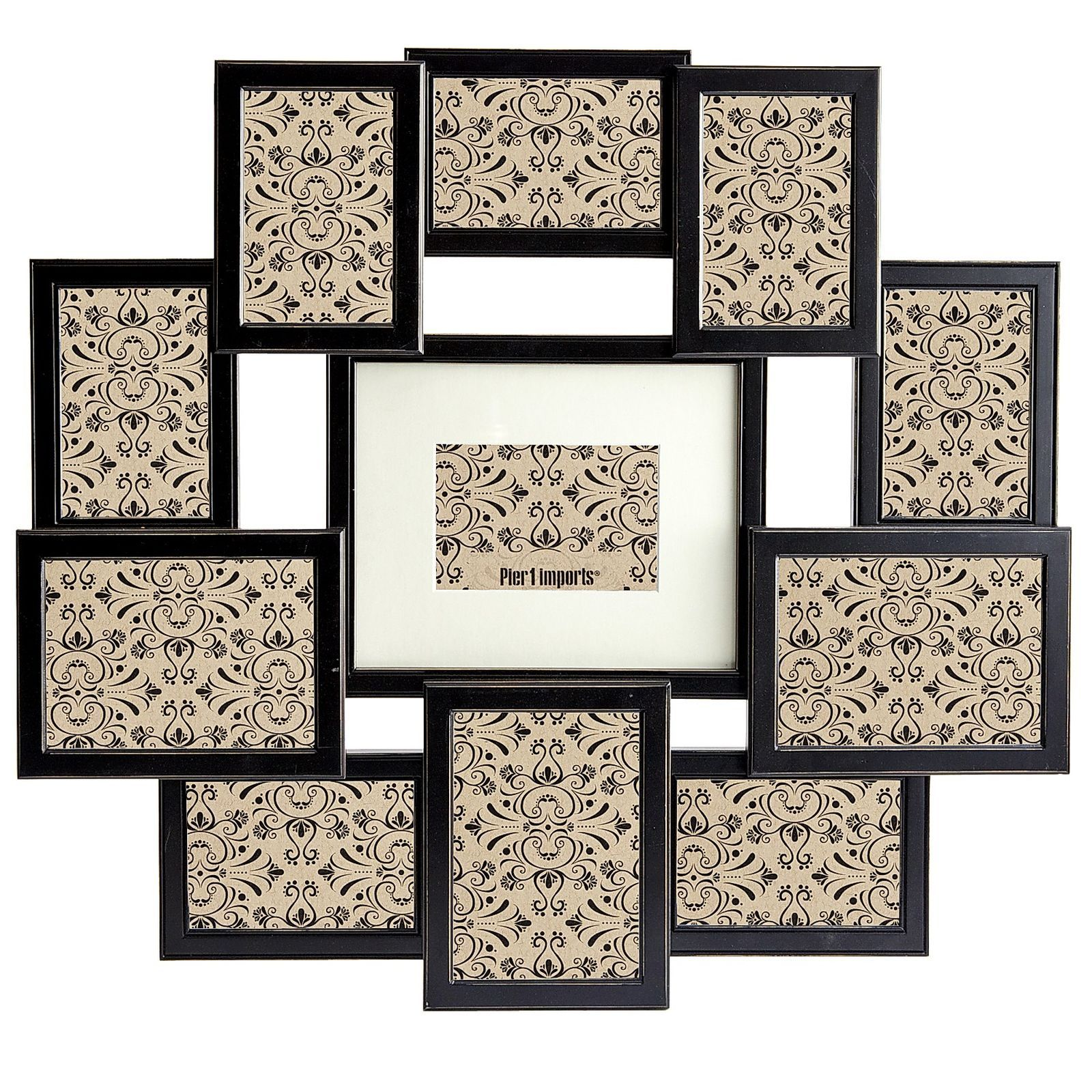 Bennet Black Collage Frame | Pier 1 Imports | Cool and useful stuff ...