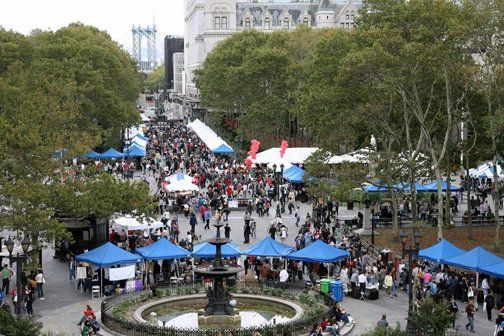 The crowd at Brooklyn Book Festival