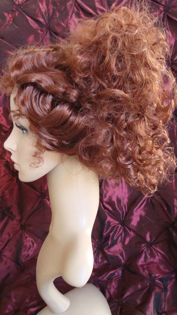Mrs Lovett Wig Sweeney Todd By Timeaftertimedesigns On Etsy