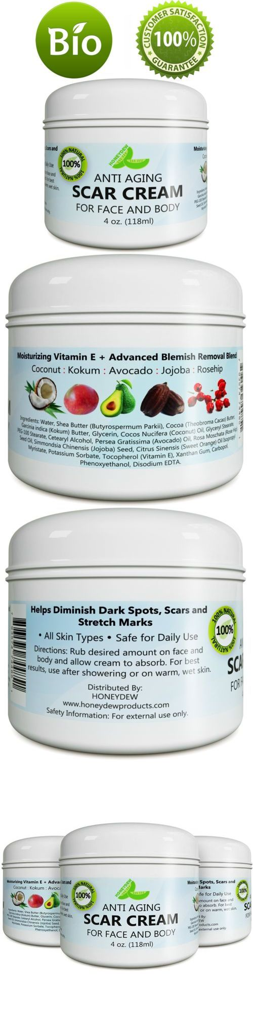 Anti Aging Scar Cream for Face and Body Scar Removal Cream for New