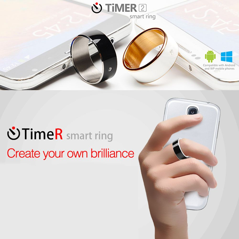 Timer 2 Smart Ring Ip68 Wearable Multifunction Dual Core