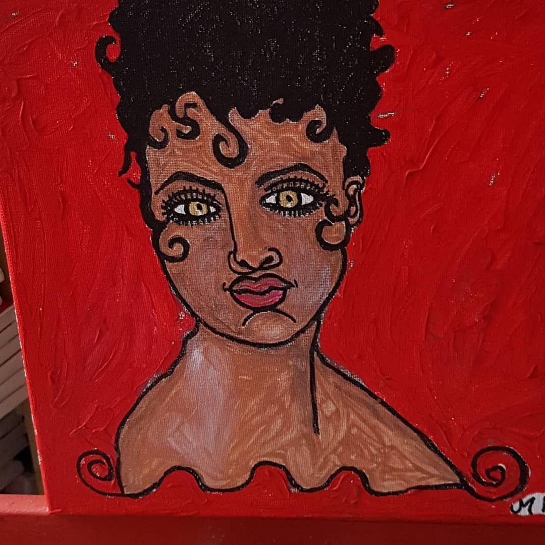 Titel Edda Maße Ca 30x40cm Material Acryl Auf Leinwand Verkaufspreis 70 Monikakell Kunst Kunstmalerei Gemälde Malerei Künstler Popart Art Painting