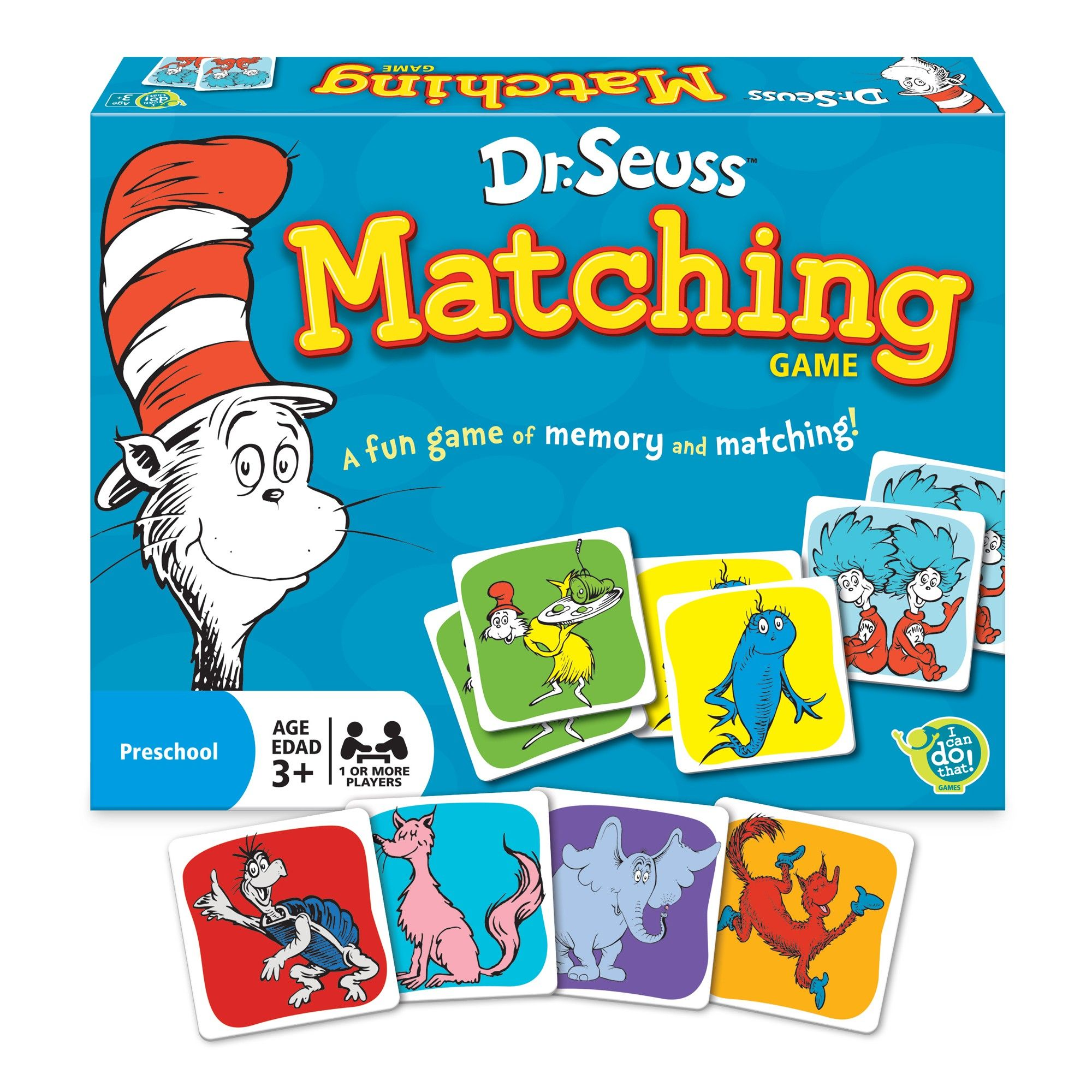 Dr Seuss Matching Game From Pbs Kids Shop