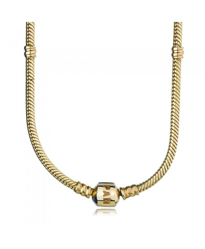 Pandora Gold Necklace UK 550703