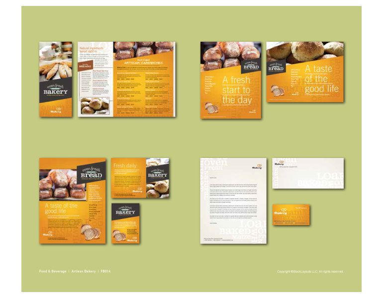 Brochure Template Inspiration Graphic Design Resources - brochure design idea example