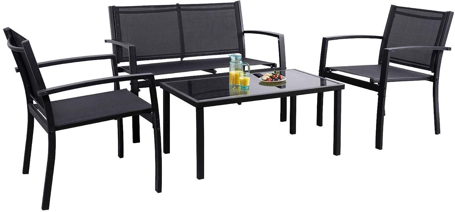 Flamaker 4 Pieces Patio Furniture Outdoor Furniture Outdoor Patio