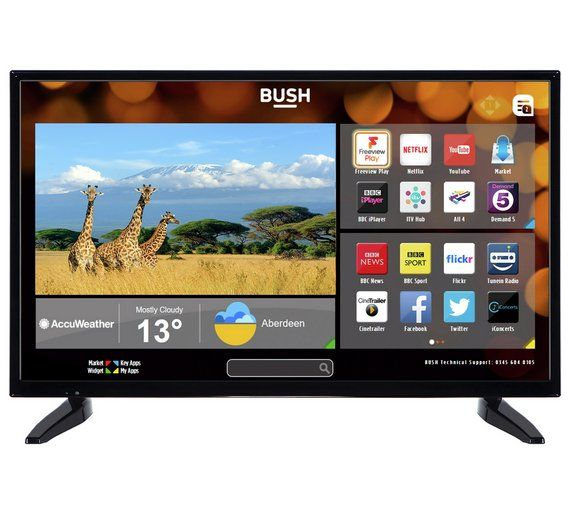 Buy Bush 32 Inch Hd Dled Smart Tv At Argos Co Uk Visit Argos Co Uk To Shop Online For Televisions Televisions And Accessories Tech Smart Tv Television Argos