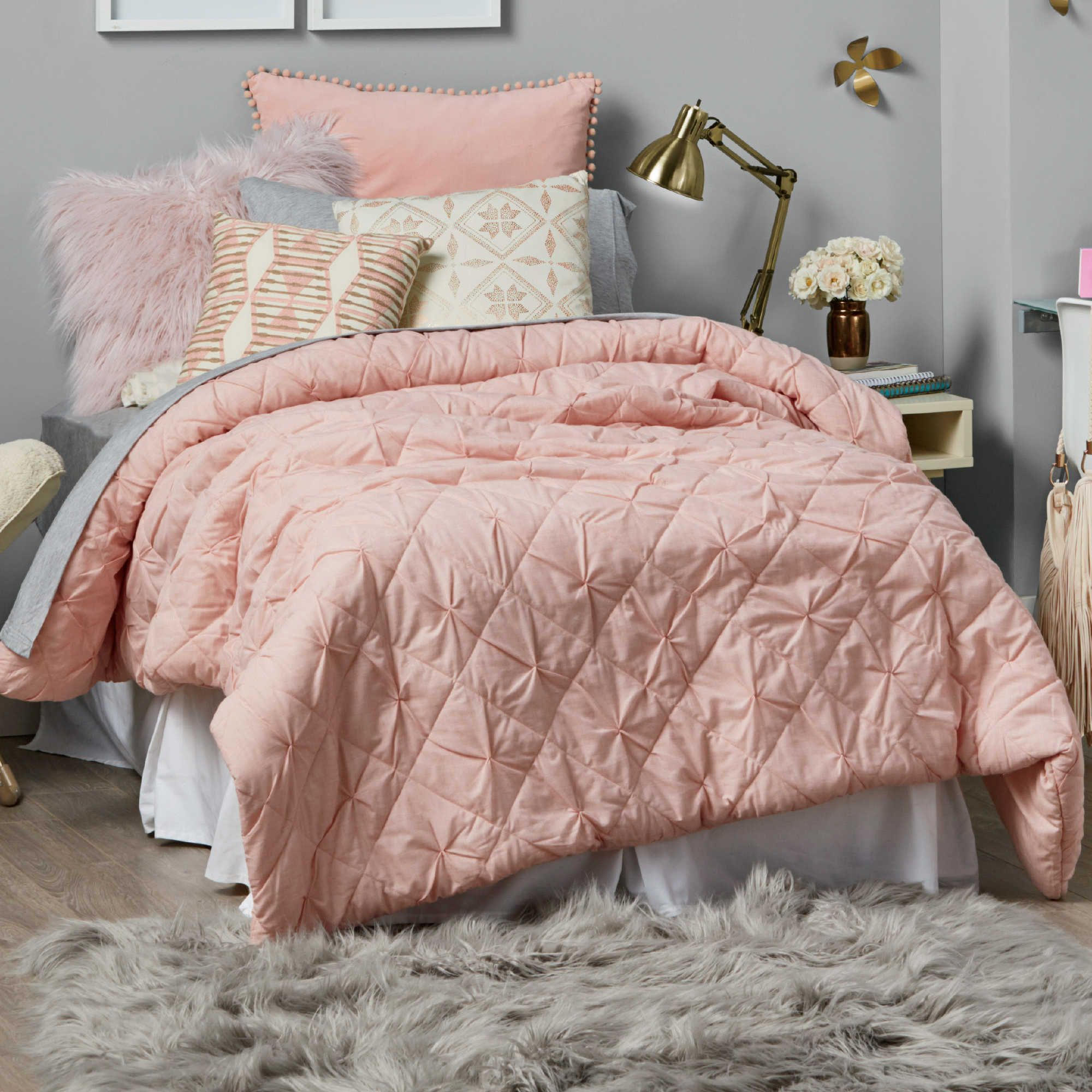 Another Bed Bath Beyond Comforter Comes In This Pink Or Vanilla