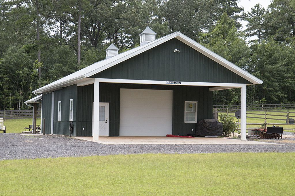 Best Morton Buildings Garage In Thomasville Georgia Morton 400 x 300