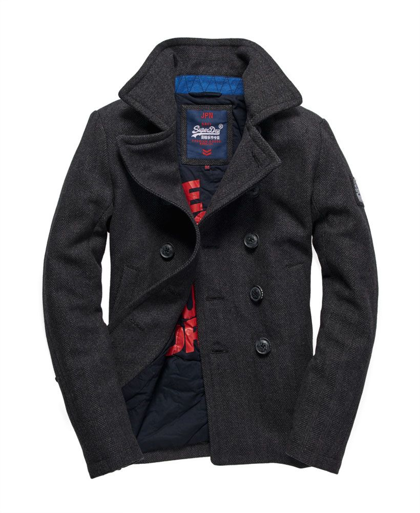 fast delivery speical offer undefeated x Superdry - Caban Rookie - Vestes pour Homme   Projets à ...