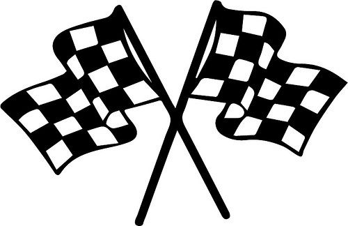 Race Flags (With images) | Checkered flag decal, Racing tattoos, Flag