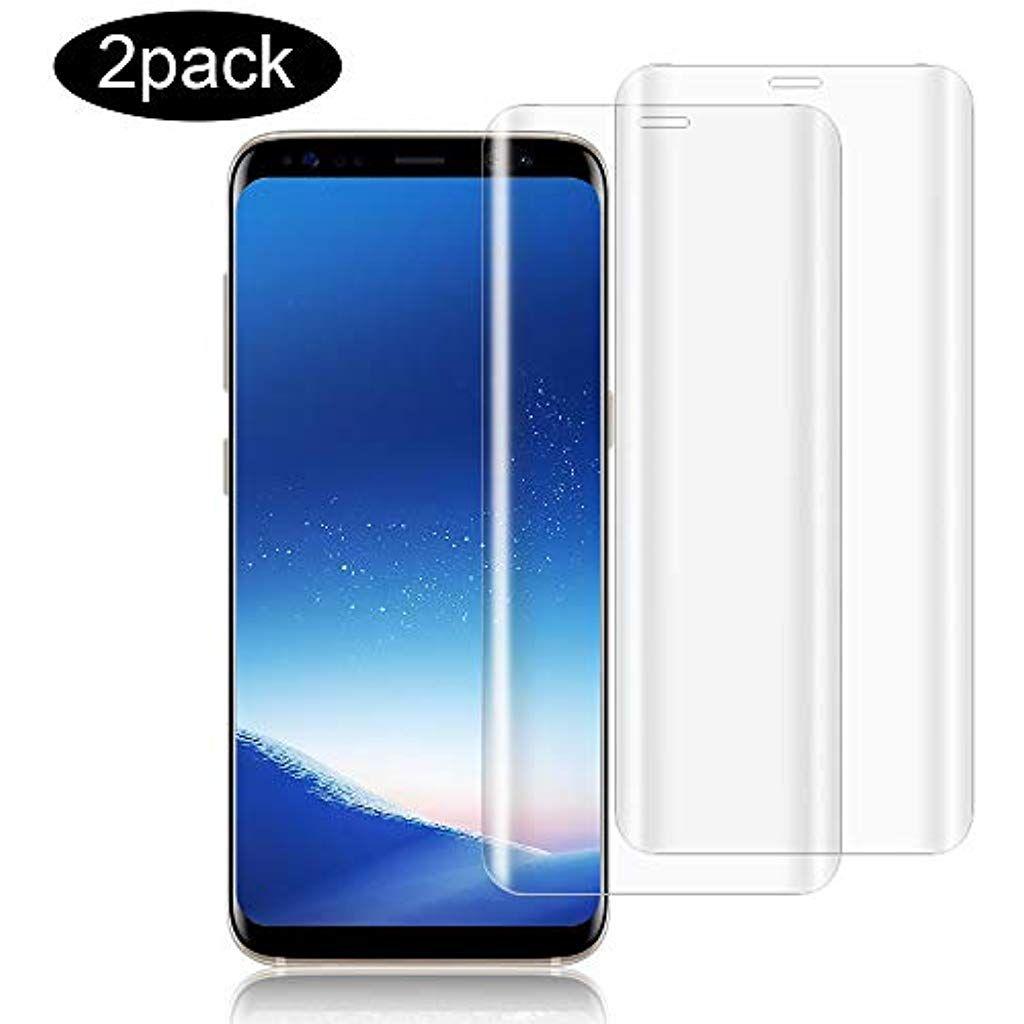 Wsiiroon Panzerglas Kompatibel Mit Samsung Galaxy S8 2 Stuck 3d Vollstandigen Abdeckung Schutzfolie 9h Harte Blasenfrei Anti In 2020 Samsung Sicherheitstechnik Folie