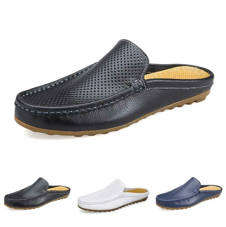 NEW Summer Mens Vogue Slip on Loafers Shoes Flat Heel Sneakers Breathable Shoes