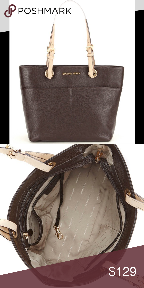 c3b943d5746 Michael Kors brown tote Medium Gently used 1x in very good condition ...