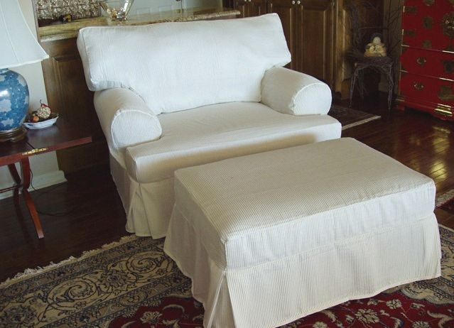 Additional Separate Custom Seat Cushion Cover For The Loveseat