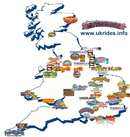 Map Uk Attractions – United Kingdom Tourist Attractions Map