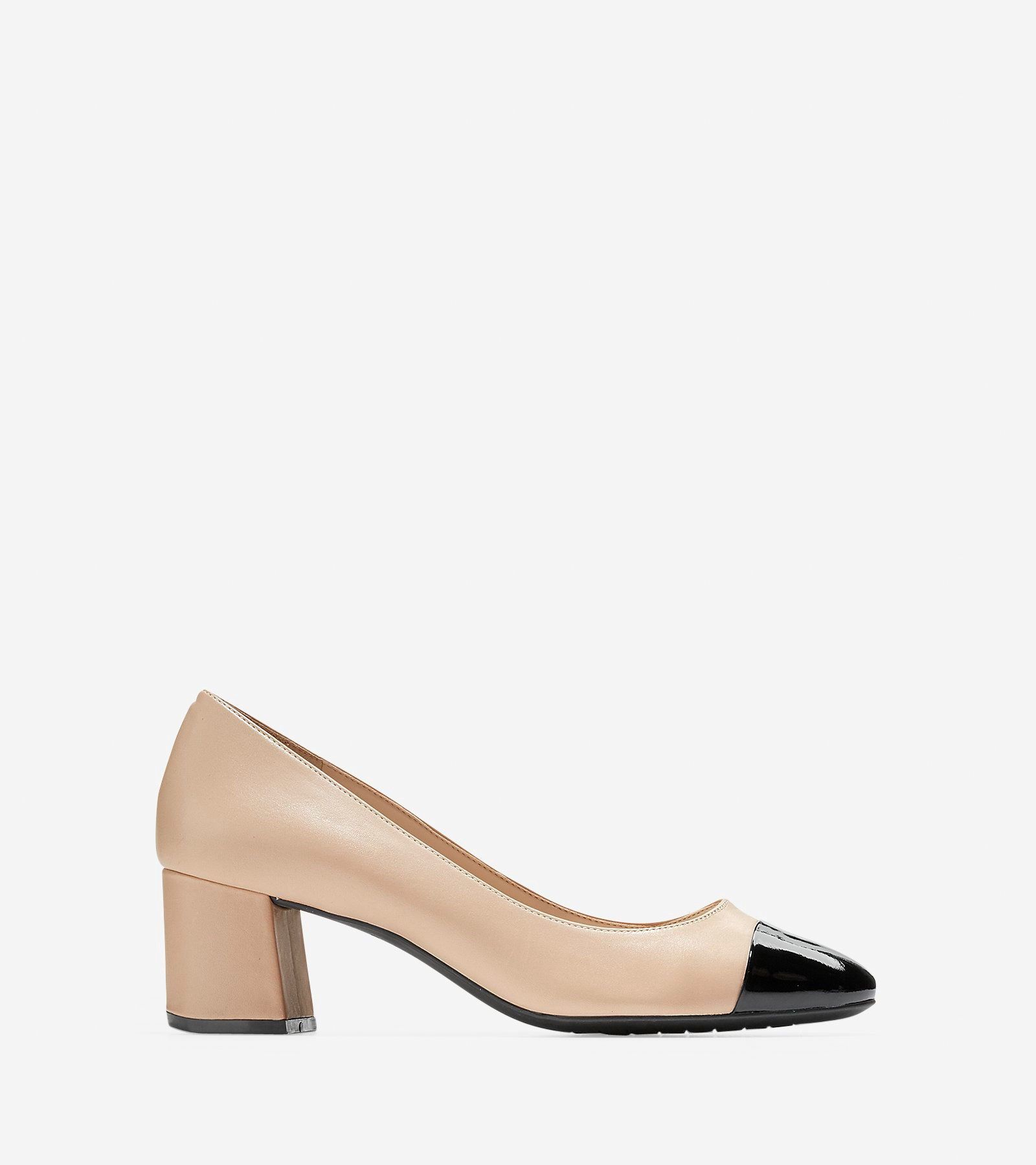 fc9214aea4b COLE HAAN Dawna Grand Pump (55mm) - Maple Sugar-black Patent ...