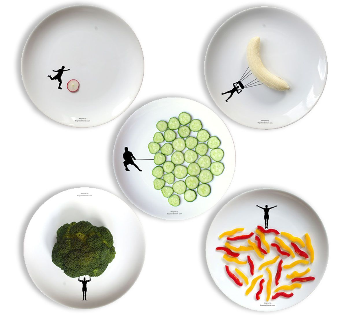 interactive dinner plates by boguslaw sliwi?ski  sc 1 st  Pinterest & interactive dinner plates by boguslaw sliwi?ski | wish | Pinterest