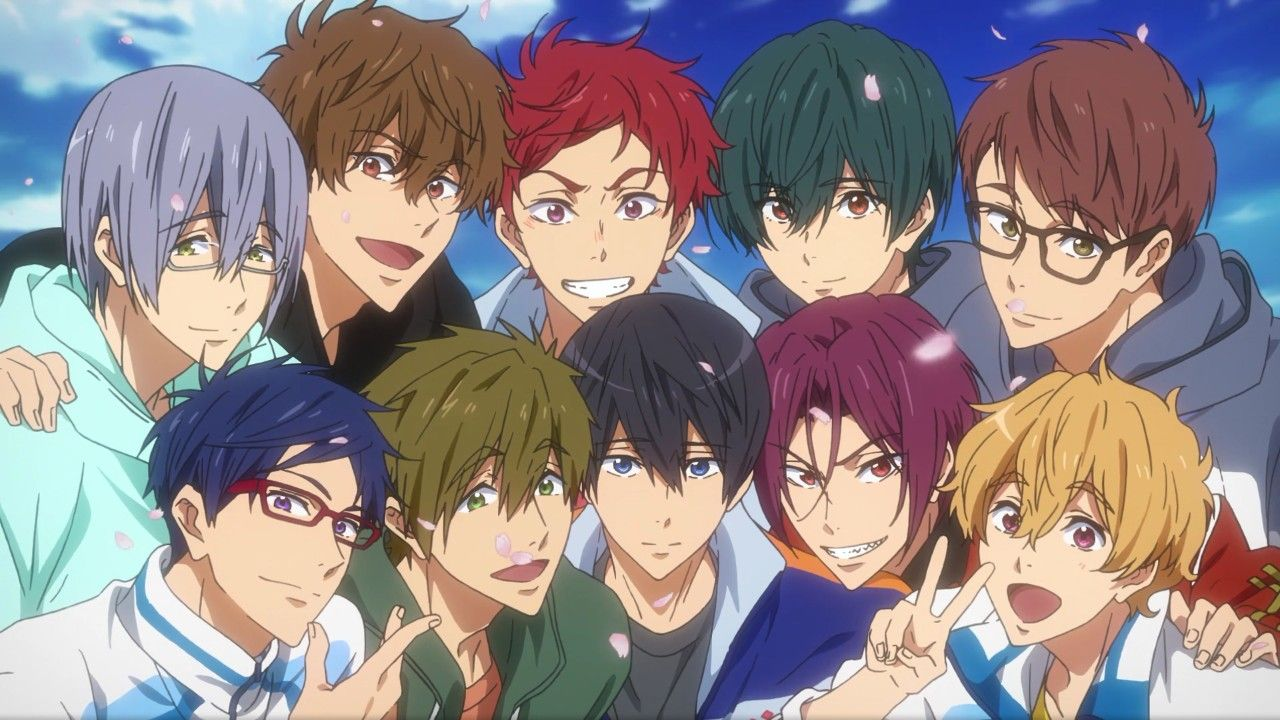 Free! Dive to the Future Episode 12 See You in 2020
