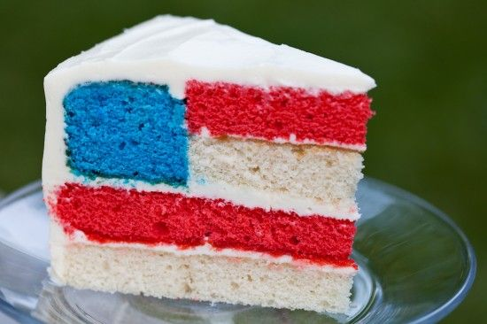 That is really fun! Independence day is coming up quick. Flag Cake :).