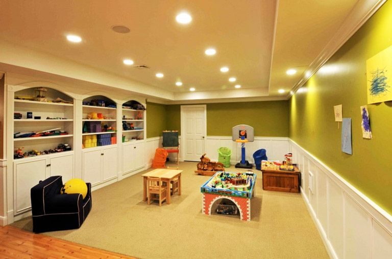 How to Make a Basement Look Brighter | Basements, Bright and Corner