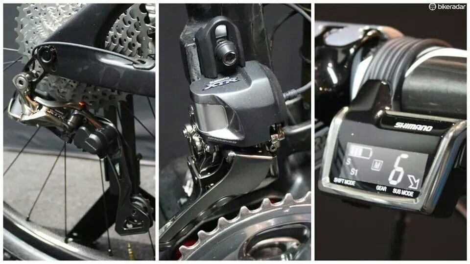 New Shimano Di2 For Mtb Fiets Fietsen