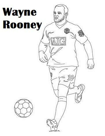 Top Famous Soccer Player | Sports coloring pages, Coloring ...