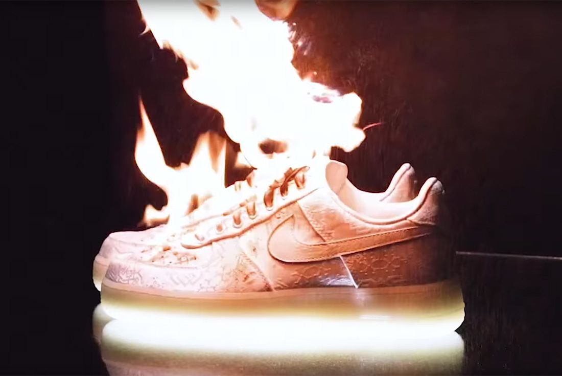 brand new ee43c 640b4 You ll never be able to fully appreciate CLOT s latest Swoosh colab if you  keep it on ice.