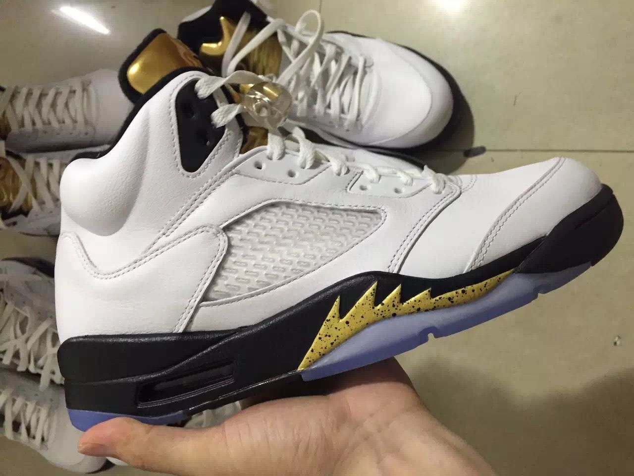 look for the air jordan 5 olympic this summer