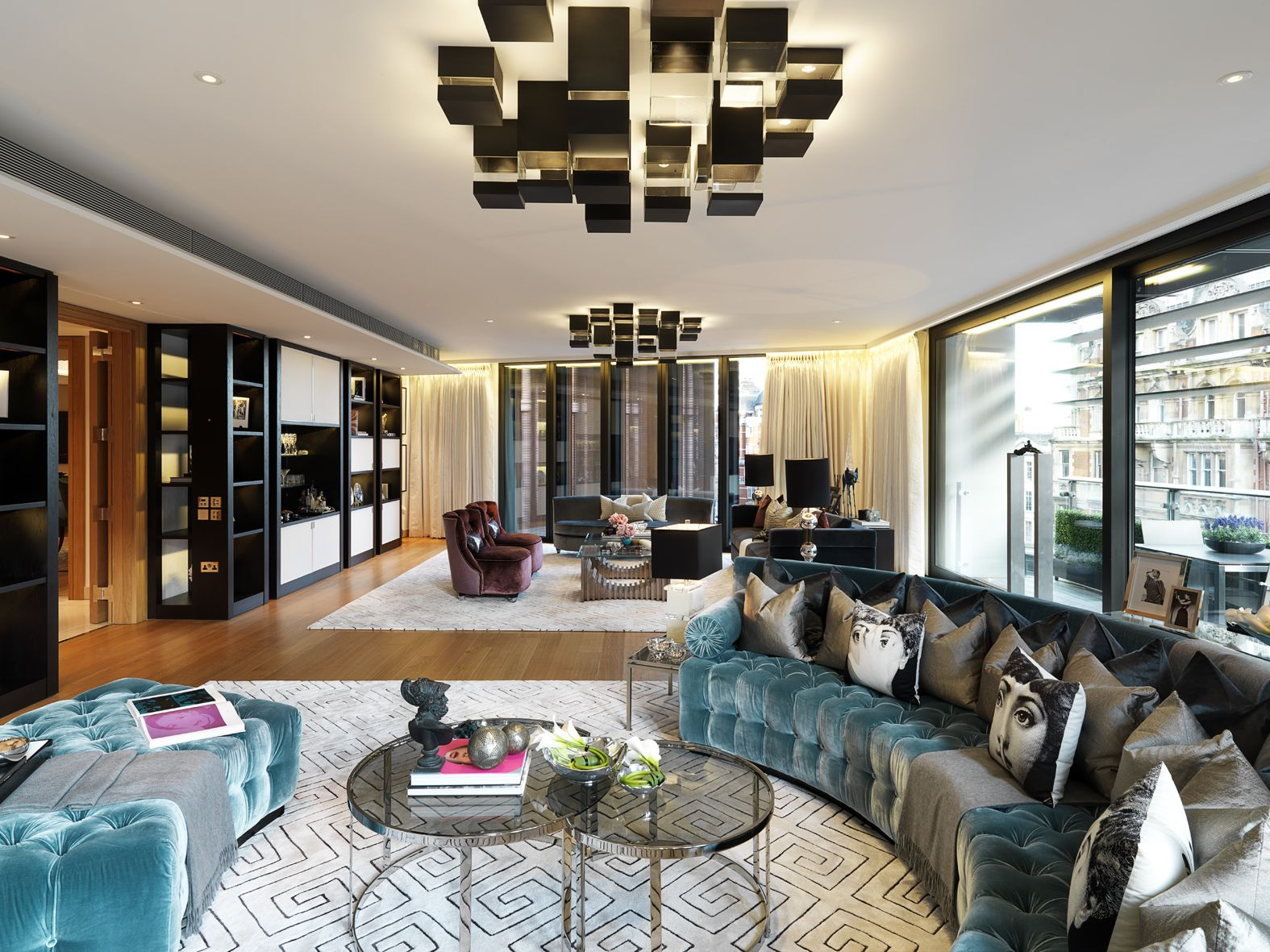 Property For Sale One Hyde Park Knightsbridge London Sw1 Knight Frank Luxurious Bedrooms Modern Houses Interior Luxury Living Room